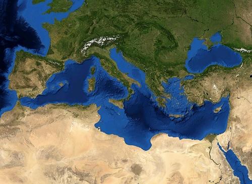 Die Verbreitung der mediterranen Landschildkröten erstreckt sich über Südwest-Europa, Süd-Europa, Südost-Europa, Nordwest-Afrika und Nord-Afrika.